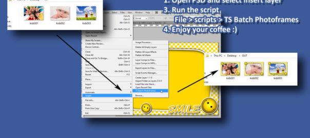 Photoshop Script Batch Photoframes
